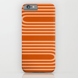Terracotta Rainbow iPhone Case