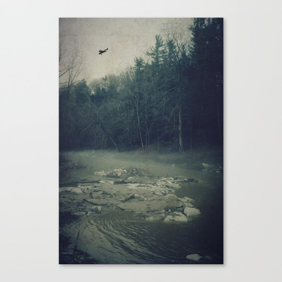 Darkness Prevails Canvas Print
