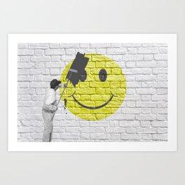 No Happiness Allowed! Art Print