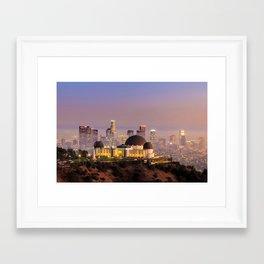 Los Angeles 02 - USA Framed Art Print