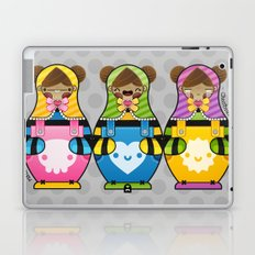 Chestnut Girl Matrioshkas Laptop & iPad Skin
