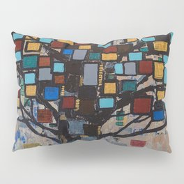 :: Stained Glass Tree :: Pillow Sham