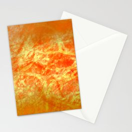Microcosmos of Chaos (Orange Version) Stationery Cards