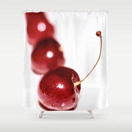 Simply Cherries Shower Curtain