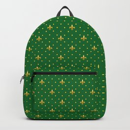 Mardi Gras Pattern | Funny Carnival Graphic Backpack