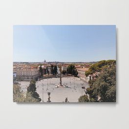Piazza del Popolo Metal Print