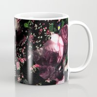 givenchy Mugs featuring Givenchy all over flower and camo printed nightingale  with detachable shoulder strap and one int by Le' + WK$amahoodT Boutique by Paynasa®