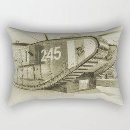 Tank 245 Rectangular Pillow