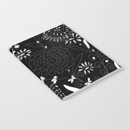 black toile by cocoblue Notebook