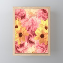 Summer Day Floral Framed Mini Art Print