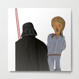 Edvard Munch I am your father Metal Print
