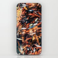 chinese iPhone & iPod Skins featuring Chinese Koi by Alexander Jedermann