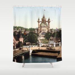 Stockholm, Sweden 1897 Shower Curtain