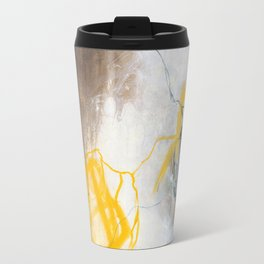 Tension - Square Abstract Expressionism Travel Mug