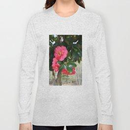 camellia flower Long Sleeve T-shirt