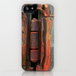 Hinge and Rust Wave iPhone Case