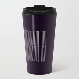 nulla dies sine linea / not a day without a line Travel Mug