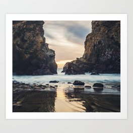 When Ocean Dreams Art Print