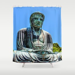 Great Buddha of Kamakura Shower Curtain