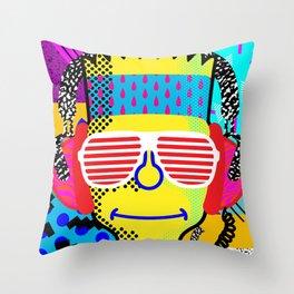 80's Bart Throw Pillow