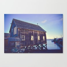 Canadian Coastal Landscape Canvas Print