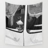 car Wall Tapestries featuring car by mayrarosito