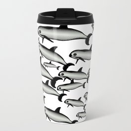 Vaquita Marina Metal Travel Mug