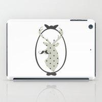 calendars iPad Cases featuring Frame, Deer, Vintage, Modern, Home Decor, Mustache, Polka dot by Shabby Studios Design & Illustrations ..