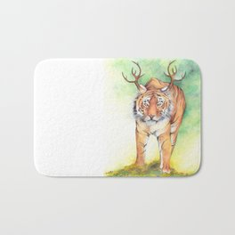 What If...?? Tigers Had Antlers! Bath Mat
