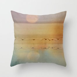 In The Misty Moonlight Throw Pillow