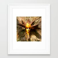 scary Framed Art Prints featuring Scary by ColinBoylett