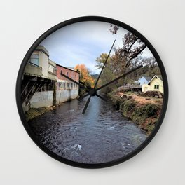 Small  Town Vibes Pt. 3 Wall Clock