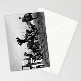 Rodeo Riders at the 1940 Calgary Stampede - Cow-boys de rodéo au Stampede de Calgary de 1940  Stationery Cards