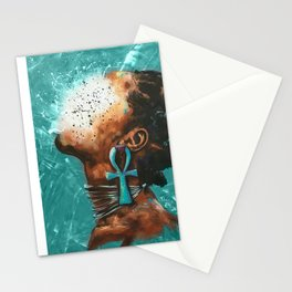 Naturally XXXIII TEAL Stationery Cards