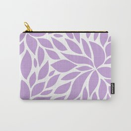Bloom - Periwinkle Carry-All Pouch
