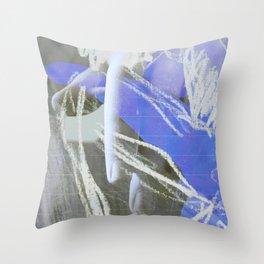 Mano (en espera) Throw Pillow