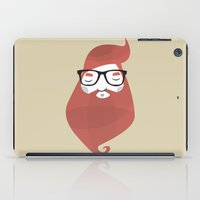 hipster iPad Cases featuring Hipster by Volkan Dalyan