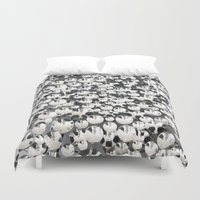 mirror Duvet Covers featuring Mirror by Judith Abbott