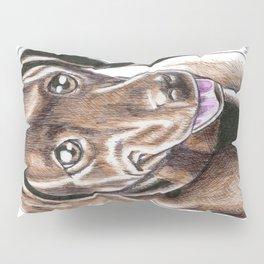Momo The Chocolate Labrador Pillow Sham