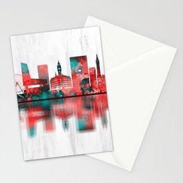 Lille France Skyline Stationery Cards