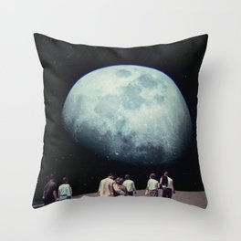 Way Back Home Throw Pillow