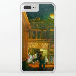 Spirit of the Season Clear iPhone Case