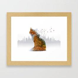 Wild I Shall Stay | Fox Framed Art Print