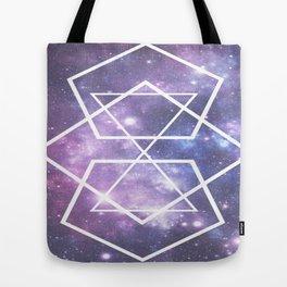 Geometric Space! Tote Bag
