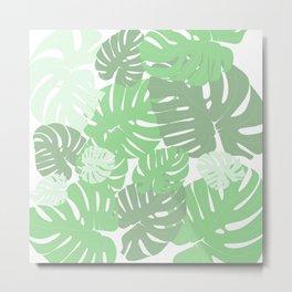 MONSTERA DELICIOSA SWISS CHEESE PLANT Metal Print