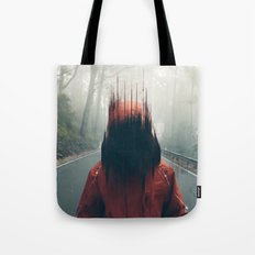 Face into the Abyss Tote Bag