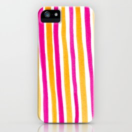 Sunset stripes iPhone Case