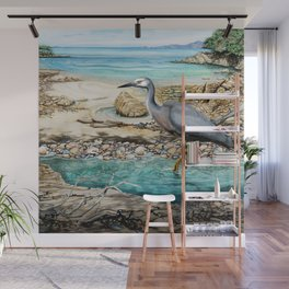 Lunch at the Beach Wall Mural