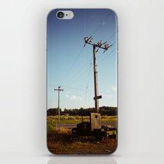 Rural Power iPhone Skin