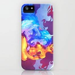 Iika and Ifrys - Fire and Ice iPhone Case